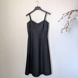 BANANA REPUBLIC Dress Sleeveless Black Sweatheart